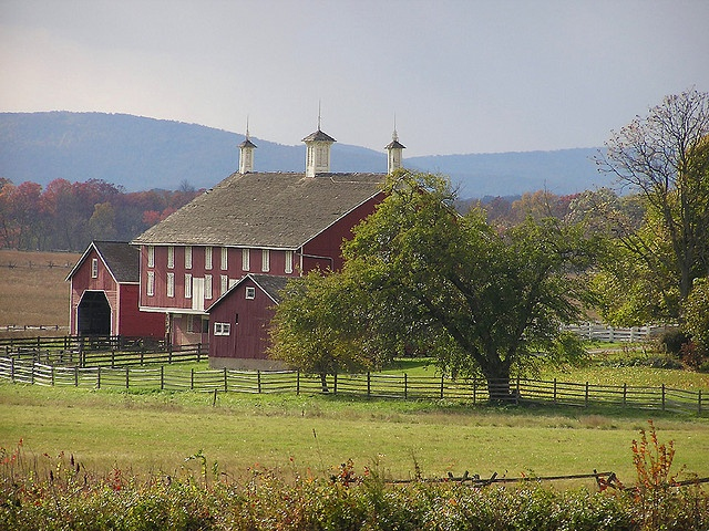 The Codori Farm, Gettysburg. The Codori Farm is just south of Gettysburg on the east side of Emmitsburg Road. It was the scene of heavy fighting on July 2nd and was at the center of Pickett's Charge on July 3rd.