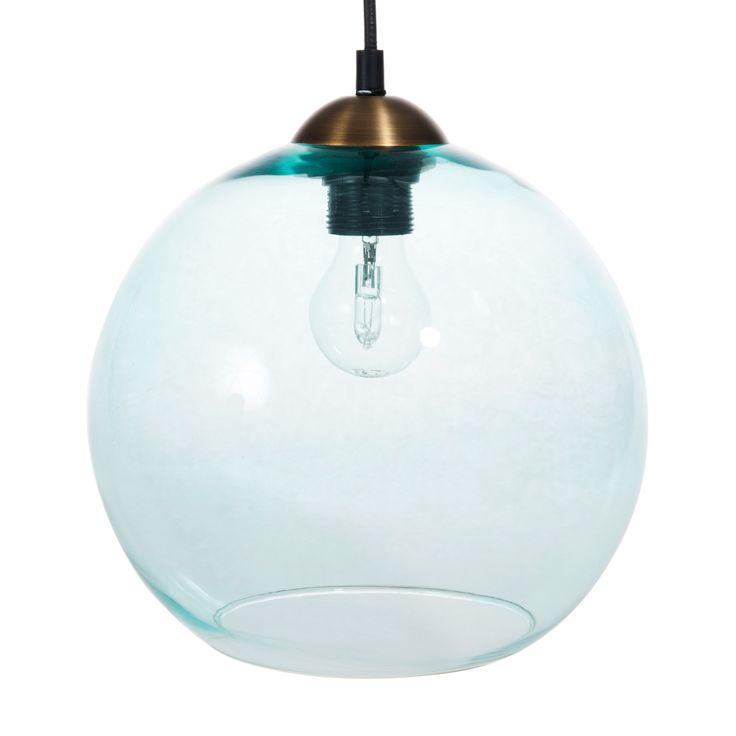 Lampada a sospensione in vetro D 25 cm JAKARTA