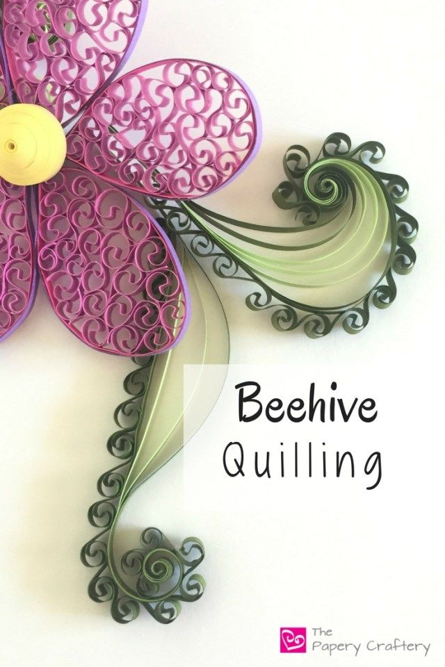 Beehive Quilling Technique