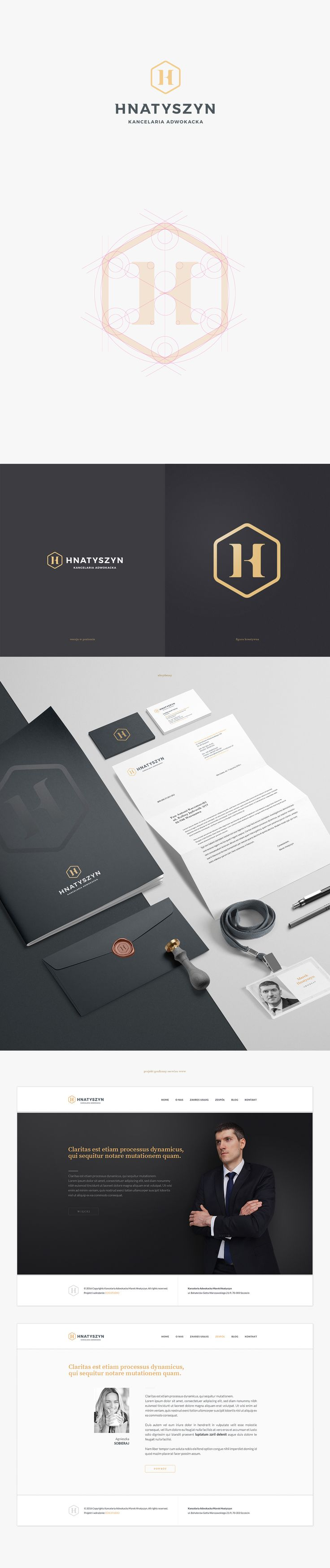 Branding / logo / website for Hnatyszyn Legal Office