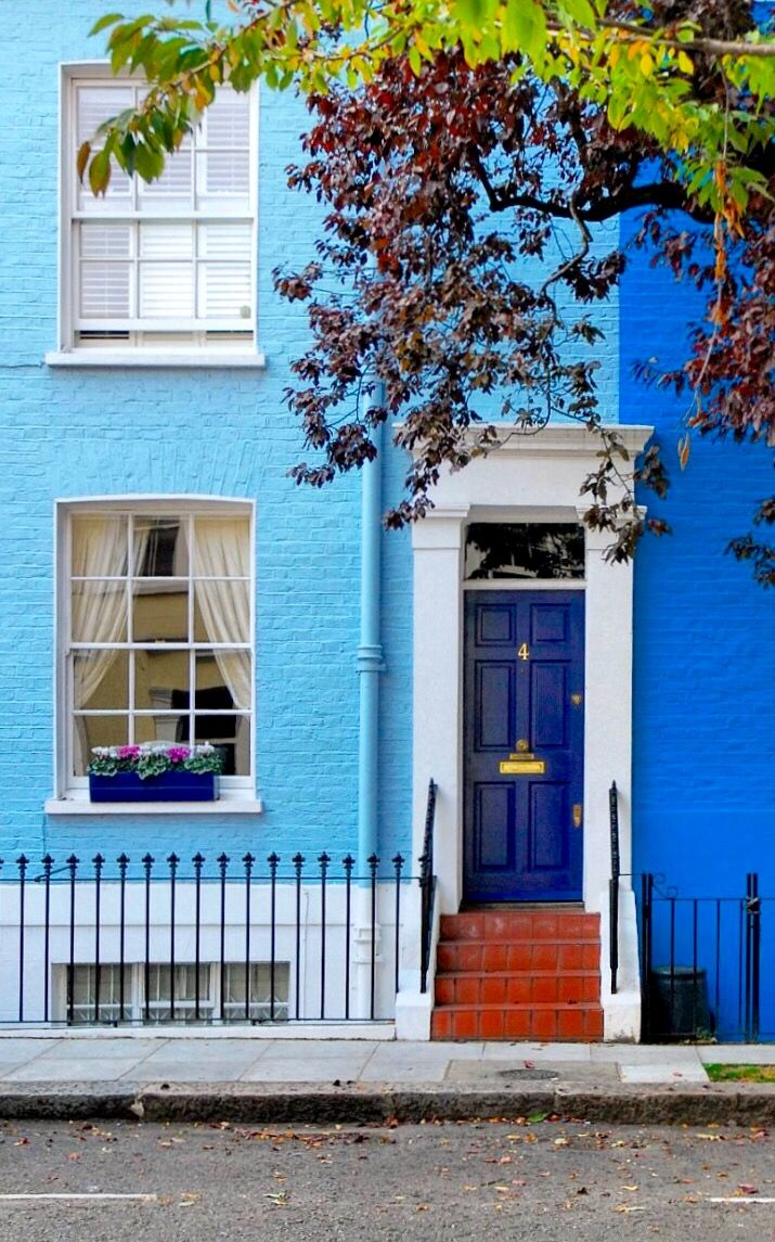 Notting Hill - London, England                                                                                                                                                                                 More