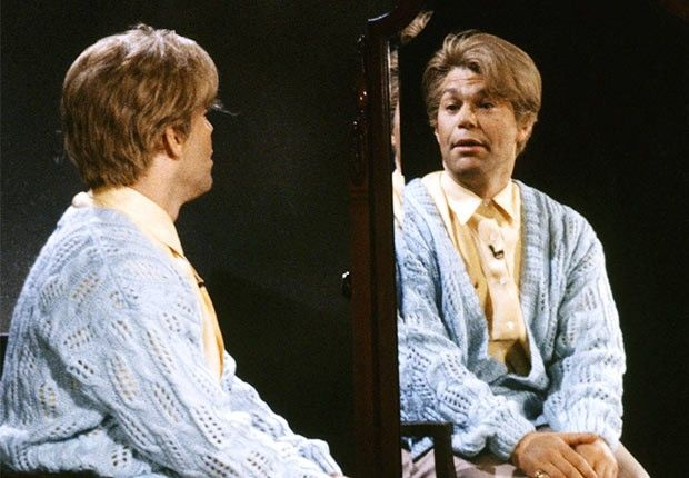 """Al Franken (1975-80, 1985-95) As prim self-affirmation guru Stuart Smalley, Franken constantly reassured others — and himself — """"You're good enough, you're smart enough, and doggone it, people like you."""" Like him they did — until he starred in Stuart Saves His Family (1995) on the big screen, which """"lost about $15 million,"""" he has said. Franken bounced back by becoming a U.S. senator from Minnesota. Only you can help you now, Al. NBCU/Getty Images"""