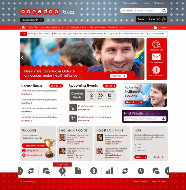 intranet homepages design intranet sharepoint design intranet ideas sharepoint 2010 homepage design ui design intranet screenshots design1 - Sharepoint Design Ideas