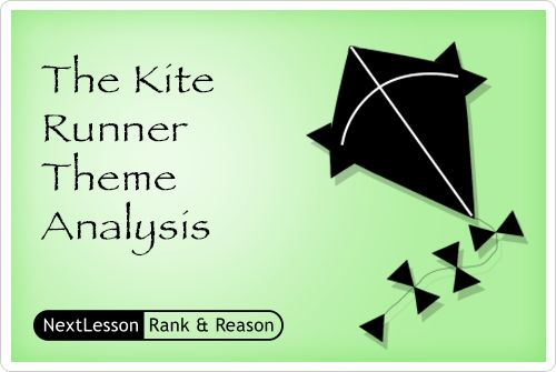 The Kite Runner Theme Analysis - Critical Thinking/problem