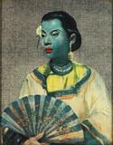 Kimono Lady by Vladimir Tretchikoff