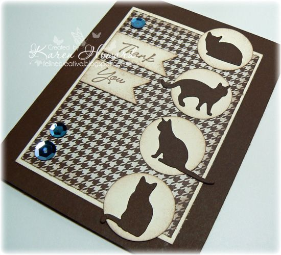 Die Cut Cats #1 by Feline Creative - Cards and Paper Crafts at Splitcoaststampers