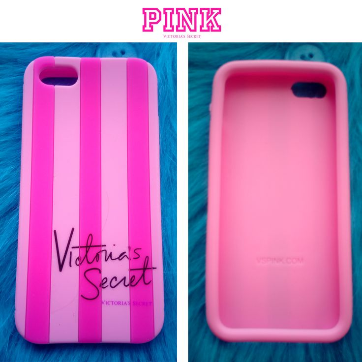 Funda de Victoria Secret para Iphone 5/5S. En Rosa.