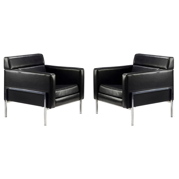 Pair Of 1960s Thonet Armchairs By Pierre Paulin Pictures