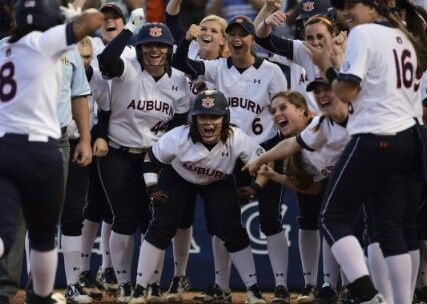 Auburn Softball 2016 SEC Champs May 14, 2016 7-1 Two years in a row