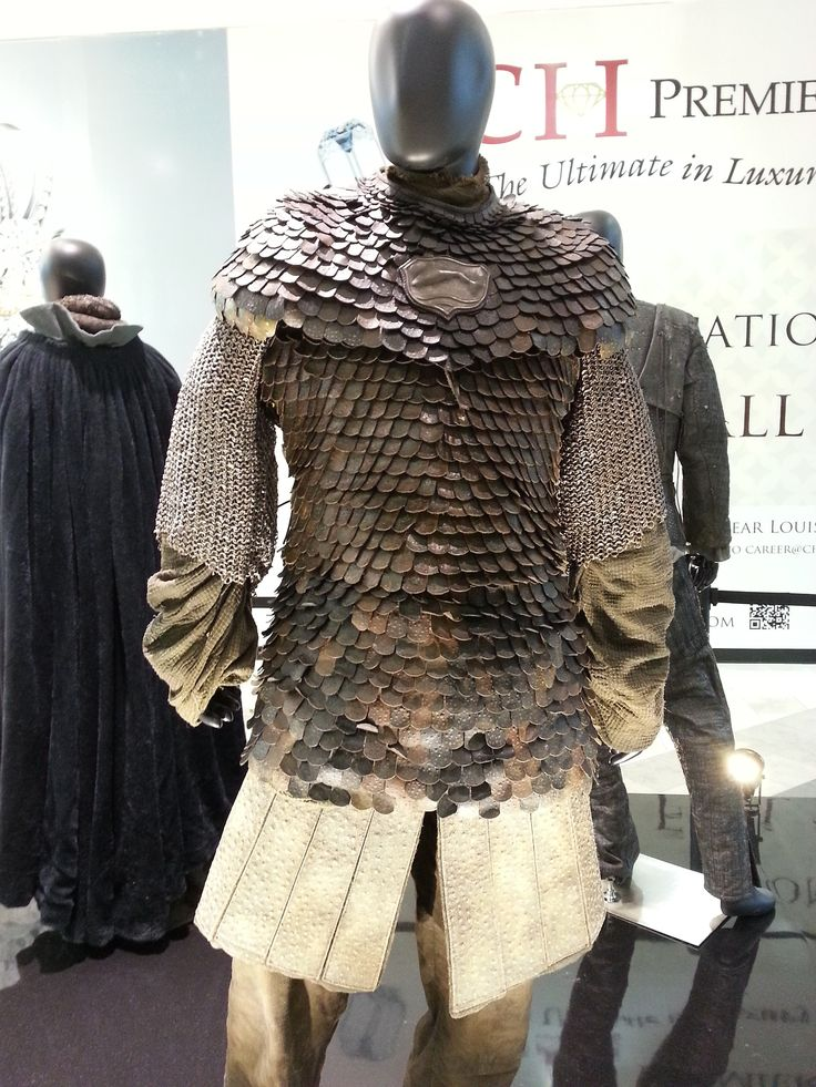 """From """"Game of Thrones"""" worn by Clive Russell as Brynden 'Blackfish' Tully design by Michele Clapton"""