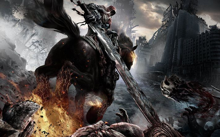 darksiders 3, games, 2015, nordic games, ps4, xbox