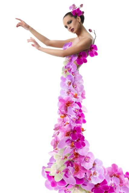 <3 Exotic orchids!  Tropical Goddess!