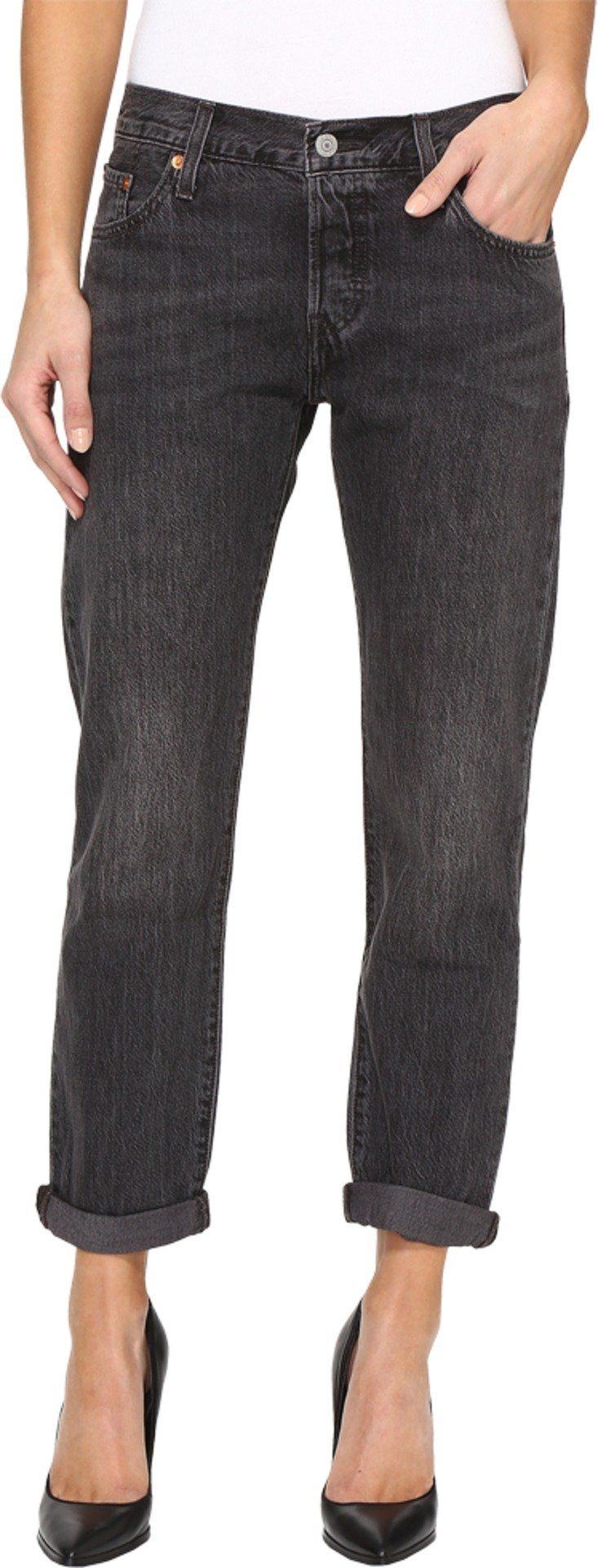 Levi's Womens Women's Premium 501 Customized and Tapered Jeans Fading Coal Jeans