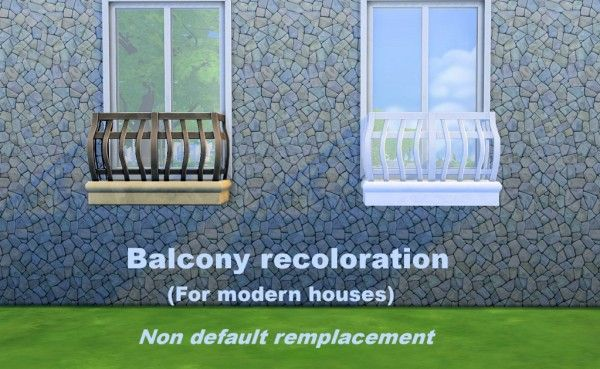17 best images about sims 4 on pinterest christmas for Sims 4 balcony