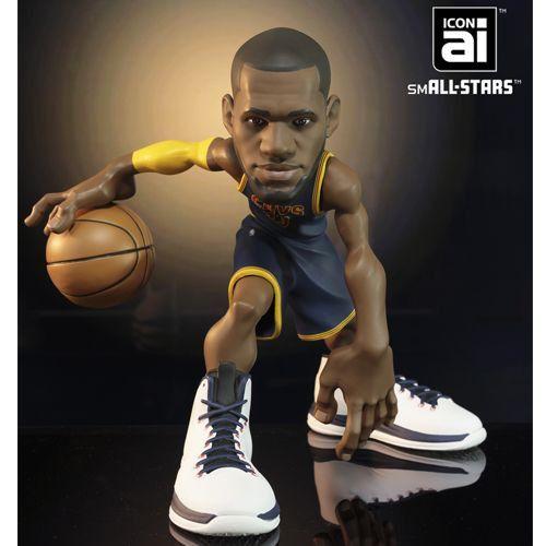"LeBron James (Cleveland Cavaliers) IconAI 11"" NBA smALL-STARS"