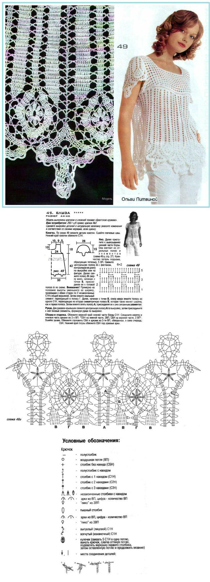 bruggia lace - crochet top