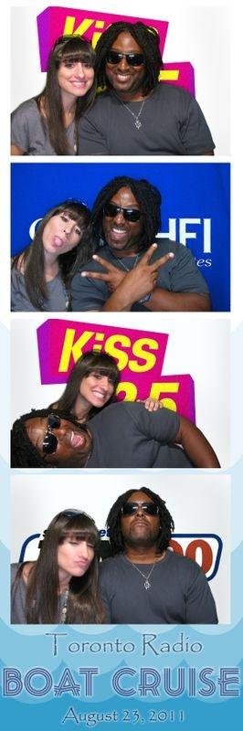 KissFM Photo Strip! #kissFM #Greenscreen #cantwaitforsummer #photobooth