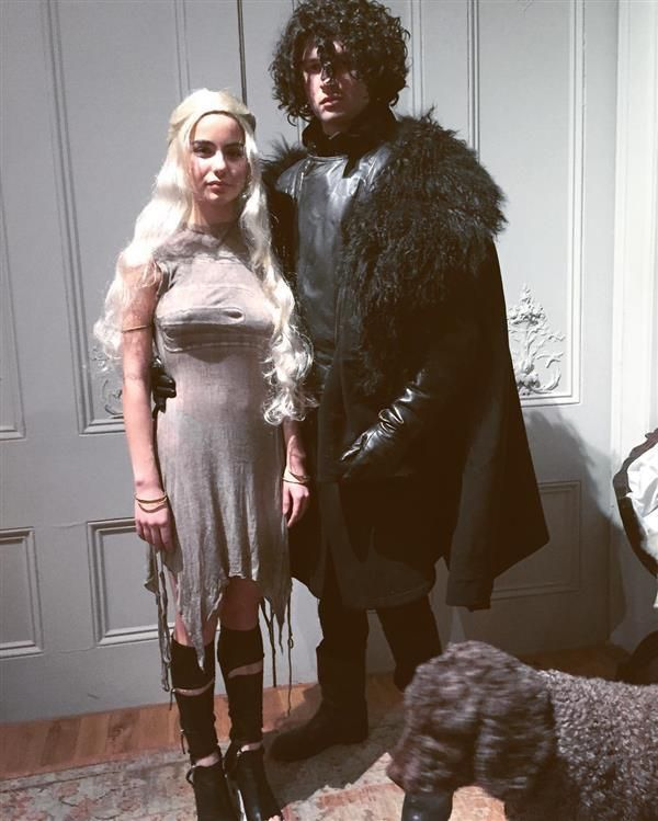 Ansel Elgort and girlfriend Violetta Komysha - Khloe Kardashian is Storm from 'X-Men,' plus more stars celebrating Halloween 2016