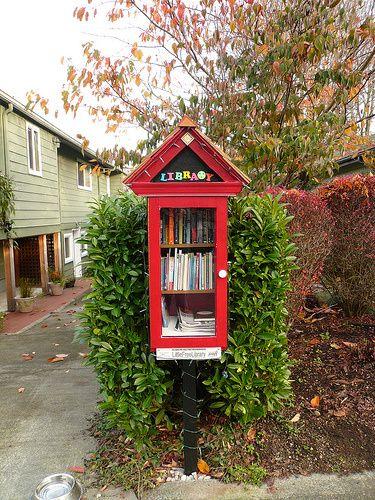 Little Free library  http://www.amazon.com/Micadoo-Blue-Amanda-Burke/dp/0982548060/ref=sr_1_1?s=books&ie=UTF8&qid=1378981184&sr=1-1&keywords=micadoo+blue