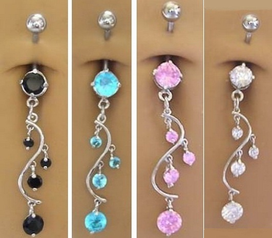 Unique Vine Dangle Belly button. Price: $9.00. Click to Purchase: http://amzn.to/WlvGAa