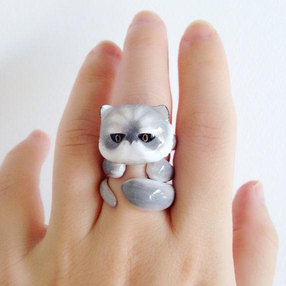 Hey, I found this really awesome Etsy listing at https://www.etsy.com/listing/224479832/daintyme-enamel-greyorange-persian-cat $95.00