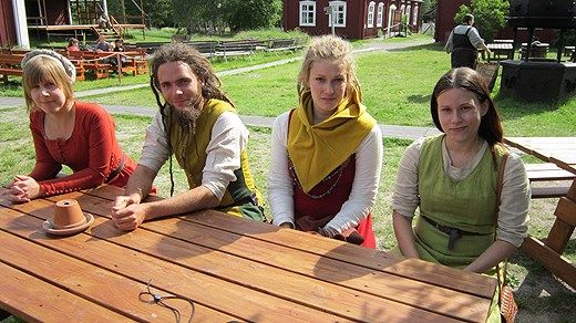Anna, Johan, Felicia och Eva-Lena