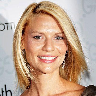 medium length hair cut bangs | to medium length hairstyles for oval face smooth bangs hairstyle ...
