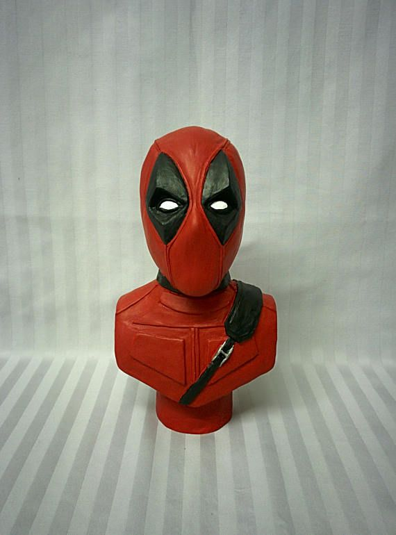Deadpool   Superhero sculpture  Resin cast  Gift ideas