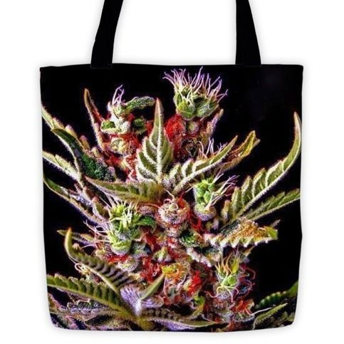 The+Elite+Cannabis+Strain+Tote+bag+By+Twisted420Glass.+Bring+your+cannabis+love+everywhere+you+go.+Whether+you're+at+a+cannabis+festival+or+going+to+the+beach+you+will+be+the+envy+of+everyone+where+ever+you+go.+ECO+Friendly+Elite+Cannabis+Strain+Tote+Bag  •+100%+spun+polyester+weather+resistant...