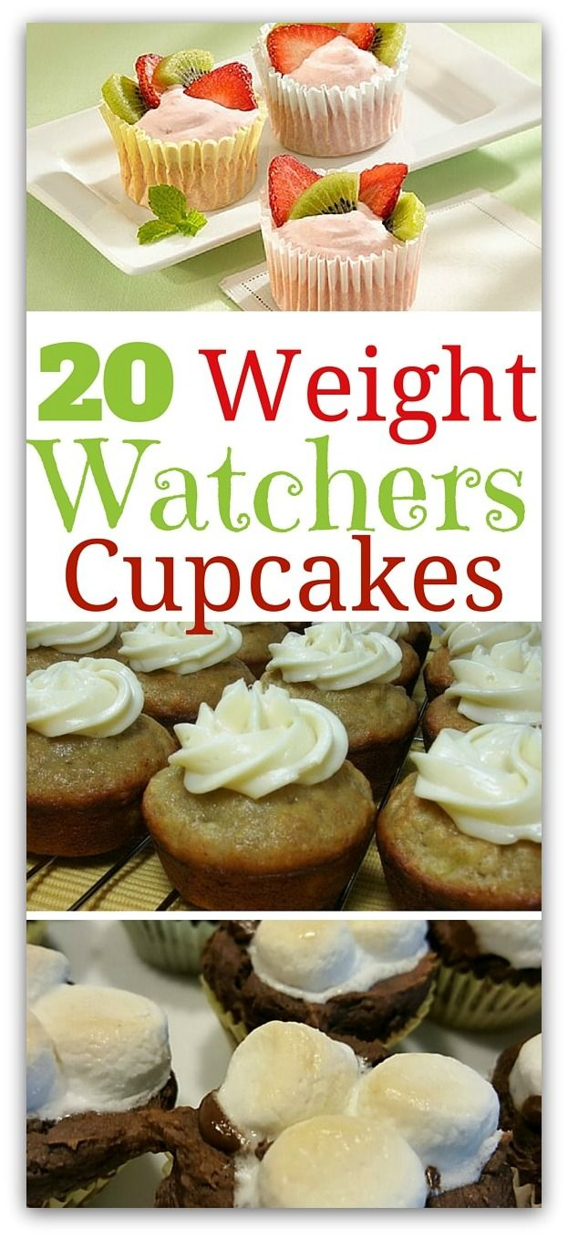 You wouldn't think a Weight Watchers Cupcake could be part of a weight loss plan. Luckily, on Weight Watchers, you can indulge in that sweet treat!