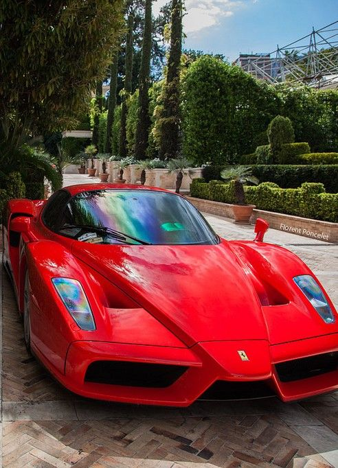 The Ferrari Enzo is one of the most iconic cars in history because of its bold front nose design as well as its headlamps. No wonder they named it after its founder.