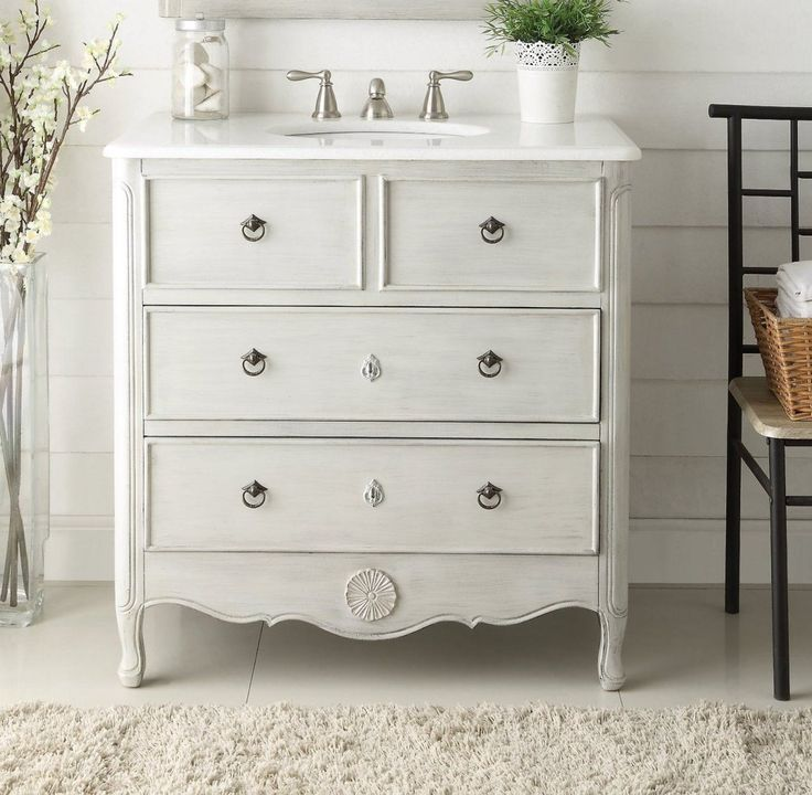 18 best rustic cottage style vanities images on pinterest