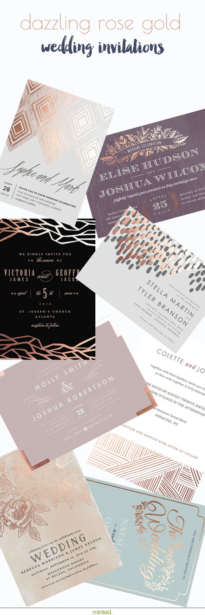 Best 200+ Wedding: Invitations/Save The Date images on Pinterest ...