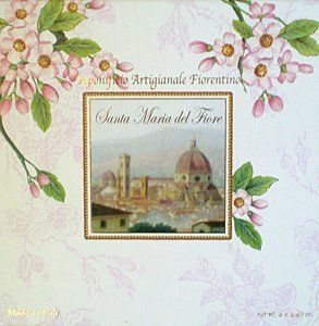 Saponificio Artigianale Fiorentino Santa Maria del Fiore Soap Set 4 X 4.40 Oz. From Italy by Saponificio Artigianale Fiorentino. $20.00. Sweet Floral Scent. Glycerine Based Soap Bars Will Leave Your Skin Soft & Moisturized. Handmade Ivory Soap Bars Made With No Coloring or Detergents. Imported From Italy. Round Soap Bars With A Large Fleur De Lis Embossed On Each Bar. Saponificio Artigianale Fiorentino Santa Maria del Fiore Soap Set 4 X 4.40 Oz. From Italy. Glycerine b...