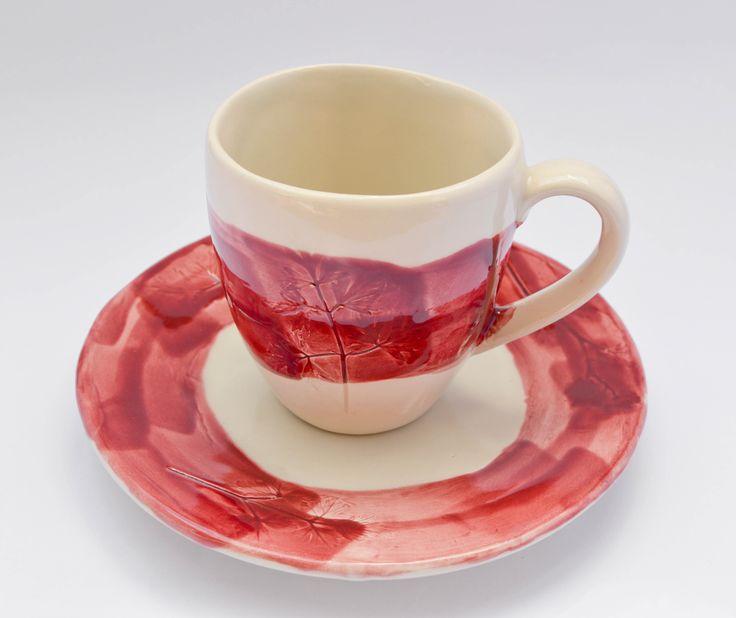 taza plato ceramica artesanal