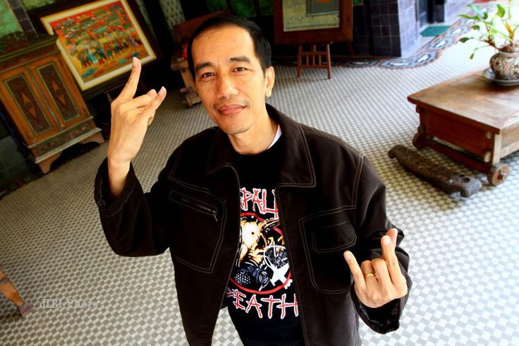 This Metalhead Has Been Elected President of Indonesia - Metal Injection