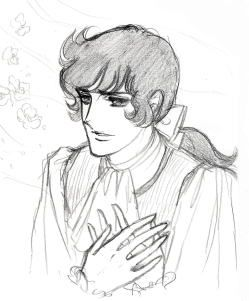 Young André. Sketch.