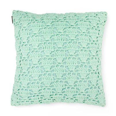 Crochet Cushion in Mint 50cm