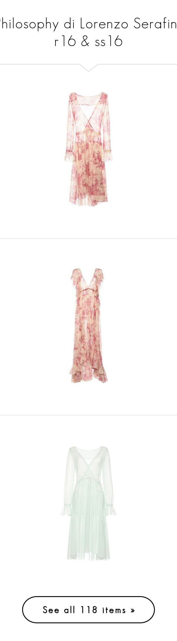 """""""Philosophy di Lorenzo Serafini: r16 & ss16"""" by livnd ❤ liked on Polyvore featuring collection, PhilosophydiLorenzoSerafini, Resort2016, springsummer2016, dresses, red summer dress, summer dresses, red dress, summer day dresses and open-back dresses"""