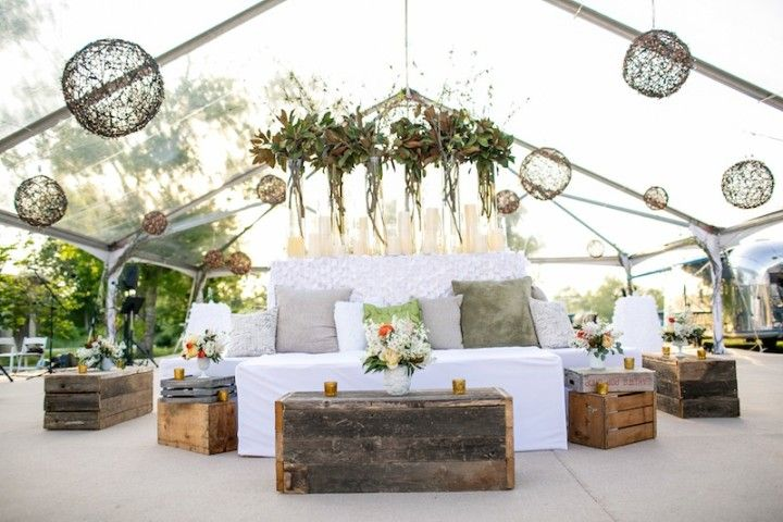 Rustic Chic Texas Wedding From Pearl Events Austin - MODwedding