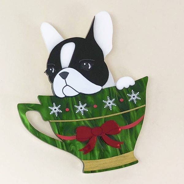 Peppy Chapette Frenchie Cup Christmas