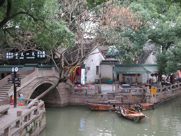 Jili Bridge is one of many in the scenic old town of Tongli, China, with a history of 600 years.