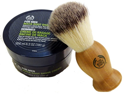 The Body Shop - Old Fashion Shave Brush and Shave Cream