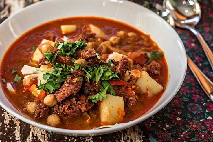 A warming, hearty and comforting soup that