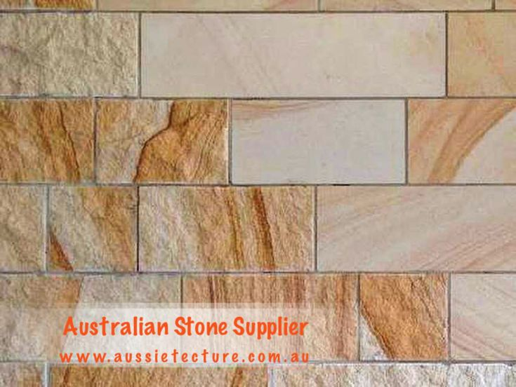 Kirra walling is made from Australian Sandstones. Available in 4 colours. Cut in 200mm course heights x either random lengths or to 400mmlong. Thickness is 30-40mm. #sandstone #stone#stonewall#landscapeidea#landscapedesign#exterior #architect -Sandstone cladding -Garden design -Landscape architect -Garden idea -Sandstone Capping -Rockface Sandstone -outdoor design -Outdoor living -Sandstone Logs -Sandstone Wall -Sandstone House -Sandstone flooring -Sandstone Paving -exterior design