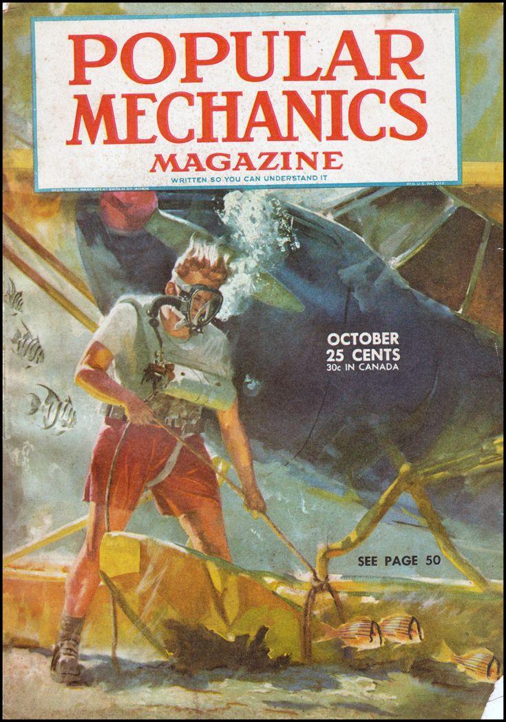Greystoke Trading Company: Popular Mechanics, October 1945