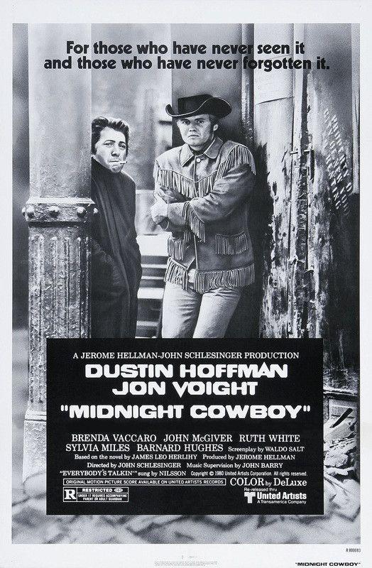 Midnight Cowboy - Dustin Hoffman - Jon Voight - Mini Print