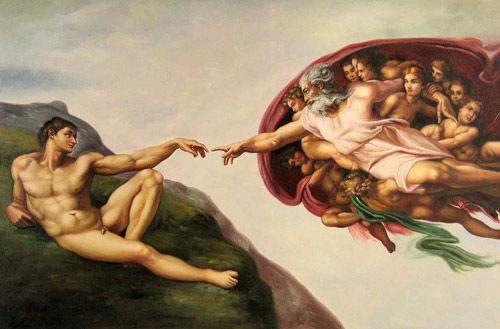 Studenten stellen berühmte Gemälde nach « Kulturtechno