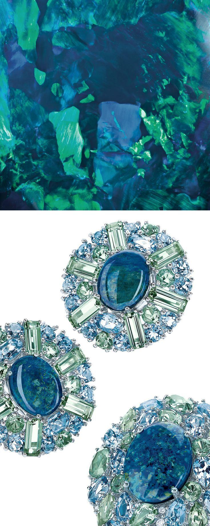 Tiffany  Co. aquamarine  diamond bangle #tiffany tiffany necklace for nike women's half marathon