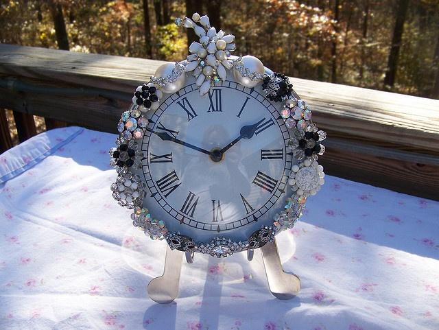 42 Best Jeweled Clocks Images On Pinterest Antique